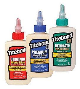 Titebond – Trio Essencial Pequeno - Wood Glue ® 237ml