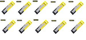 Stanley  KIT 10 Lâmina reposição estilete 18mm 15 quebras