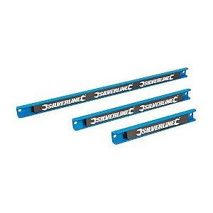 Silverline - Porta Ferramentas Magnetico 633950 Magnetic Tool Rack Set 3pce