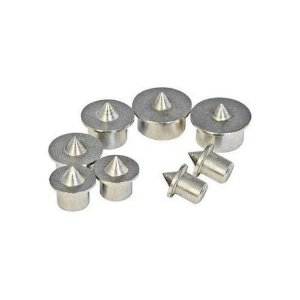 Silverline - Centralizador de Furos p/ Cavilhas 733252 Dowel Centre Point Set 8pce