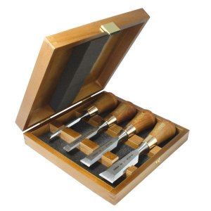Narex - Conjunto de Formões Butt - 853750 - Set of butt chisels in wooden box