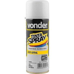 VONDER - Tinta em spray branca Brilhante, com 200 ml