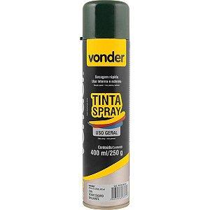 VONDER - Tinta em spray verde escuro, com 400 ml
