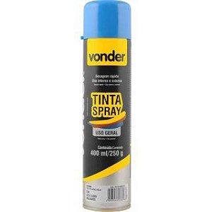 VONDER - Tinta em spray azul claro, com 400 ml