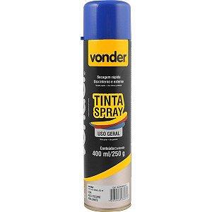 VONDER - Tinta em spray azul escuro, com 400 ml