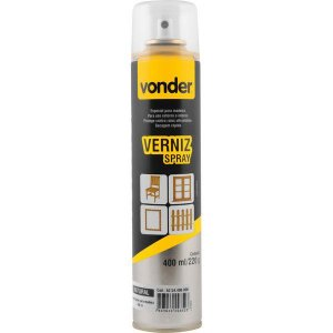 VONDER - Verniz em spray, natural, 400 ml
