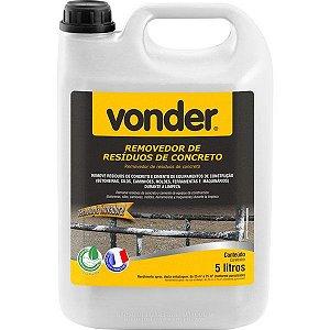 VONDER - Removedor de resíduos de concreto, biodegradável, 5 litros