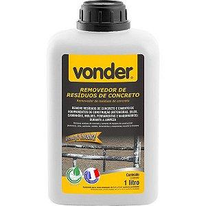 VONDER - Removedor de resíduos de concreto, biodegradável, 1 litro