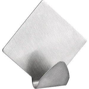 VONDER - Gancho adesivo losango, em inox, com 2 peças