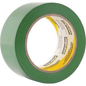 VONDER - Fita adesiva para demarcação 48 mm x 30 m verde