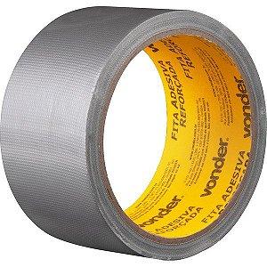 VONDER - Fita adesiva reforçada 50 mm x 10 m prata