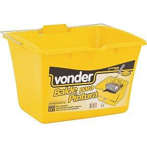 VONDER - Balde/caçamba para pintura, 15 L, amarelo