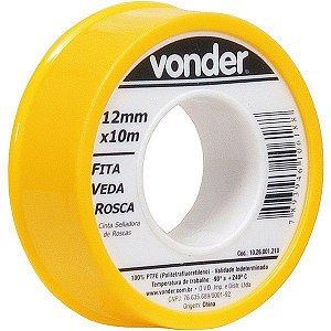 VONDER - Fita veda rosca 12 mm x 10 m
