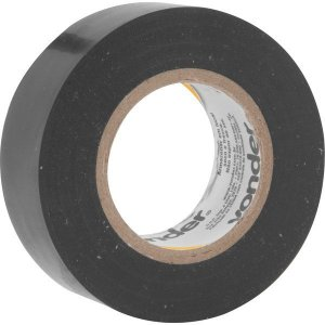 VONDER - Fita isolante, 19 mm x 20 m, preta