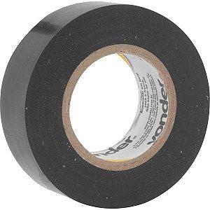 VONDER - Fita isolante, 19 mm x 10 m, preta