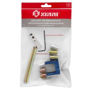ZINNI - Kit 08 Cavilha 25mm (Guia + Buchas + Haste 100 + Stopper)