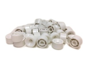 BIGFER - Suporte de Prateleira em Polímero = 050 und - (Branco) 04.02.002.005