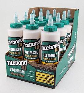 Titebond – Kit c/ 12 und Cola Ultimate III Wood Glue 473ml (1414)