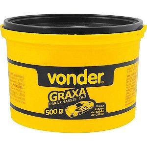 VONDER - Graxa para chassis CA 2 NLGI 2 500g