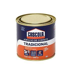 Henkel - Adesivo Cascola Tradicional sem Toluol - Cola de Contato Lata 195gr