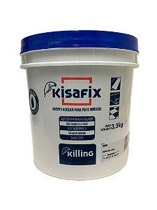 Killing - Kisafix Adesivo Acrílico p/ Pisos Decorativos Vinílicos 3,5 kg