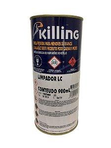 Killing - Limpador LC - 0.9 litros - Limpar Resíduos de Adesivos (cola)