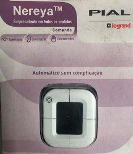 Legrand Nereya - Home Automation Controle Interruptores 2MD NY Branco 663090