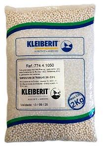 Kleiberit - Cola Granulada Hot Melt Branca 774.4.1050 - 2kg - p/ Coladeiras de Bordos - ABS, Melamina, PVC e Laminados