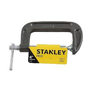 "Stanley - Grampo forma ""C"" de 4"" - 102mm"