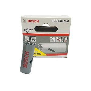 Bosch - Serra Copo HSS-Bimetal c/ Cobalto  19MM - 3/4 Pol.