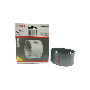 Bosch - Serra Copo HSS-Bimetal c/ Cobalto 102MM - 4 Pol.