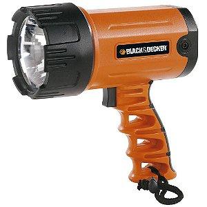 Black + Decker - Lanterna Recarregável Led Farol Portátil BSL100