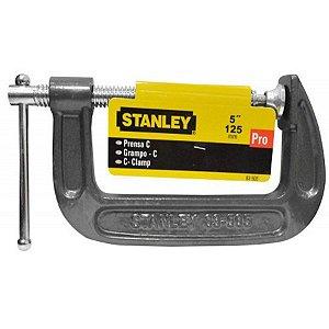"Stanley - Grampo forma ""C"" de 5"" - 125mm"