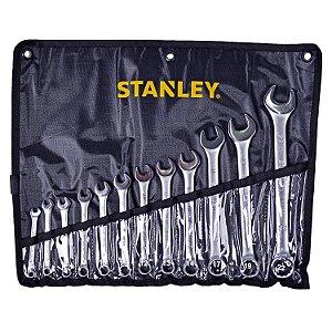 Stanley - Jogo de Chaves Combinadas (6-22mm) 12 Peças - STMT80932-840
