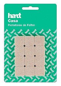 Hardt - Protetores de Feltro Quadrado 20x20 3mm 24 und R0004BG