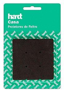 Hardt - Protetores de Feltro Quadrado 25x25 3mm 18 und R0005MR