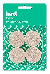 Hardt - Protetores de Feltro Redondo D38 3mm 08 und R0003BG