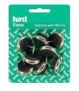 Hardt - Sapatas c/ prego p/ móveis MET D27 08 Und R0052CR