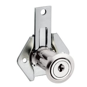 STAM - Fechadura para Móveis 302 LG -  Externa NIQUELADO CCSD - 12905