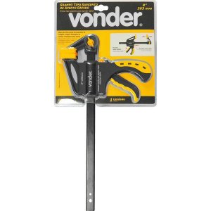 "VONDER - Grampo Sargento 8"" - Aperto Rápido - GA608"
