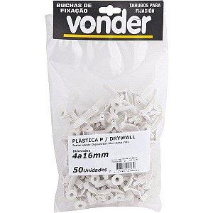 VONDER - Bucha Plástica para Dry Wall - 4 à 16mm