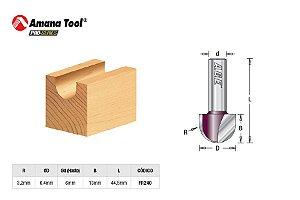 Amana Tool - AGE™ Pro-Series - FR240 - Meia Cana - Raio 3,2mm