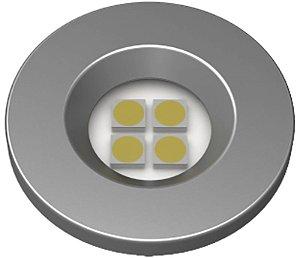 Artetílica Nuze - Luminária Pontual Circular D35 4 Super Led 3000K E321.G - 110/220V TITANIUM