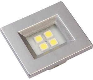 Artetílica Nuze - Luminária Pontual Retangular 35 - 4 Super Led 6000K 110/220V ALUMINIO - E514.A