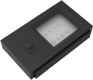 Artetílica Nuze - Luminária UNNO 220V Interruptor 5000k PRETO - E5001.01P