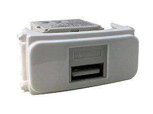 WEG - Composé - Módulo Tomada Carregador Keystone USB - Branco