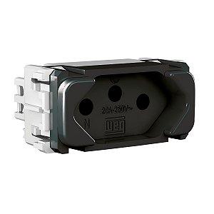 WEG - Composé - Módulo Tomada de Energia - 2P+T 20 A/250 V - Preto
