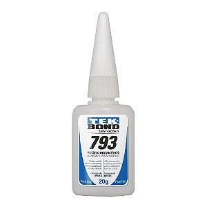Tekbond - Adesivo Instantâneo 793 - Bico Antientupimento - 20g
