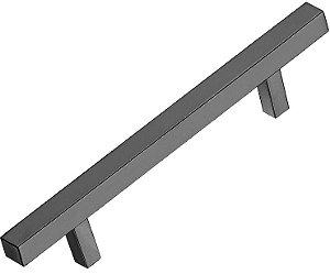 Italy Line - Puxador - 224mm - Alumínio - Escovado - (IL 06) p/ móveis, armários e gavetas
