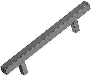 Italy Line - Puxador - 392mm - Alumínio - Escovado - (IL 06) p/ móveis, armários e gavetas